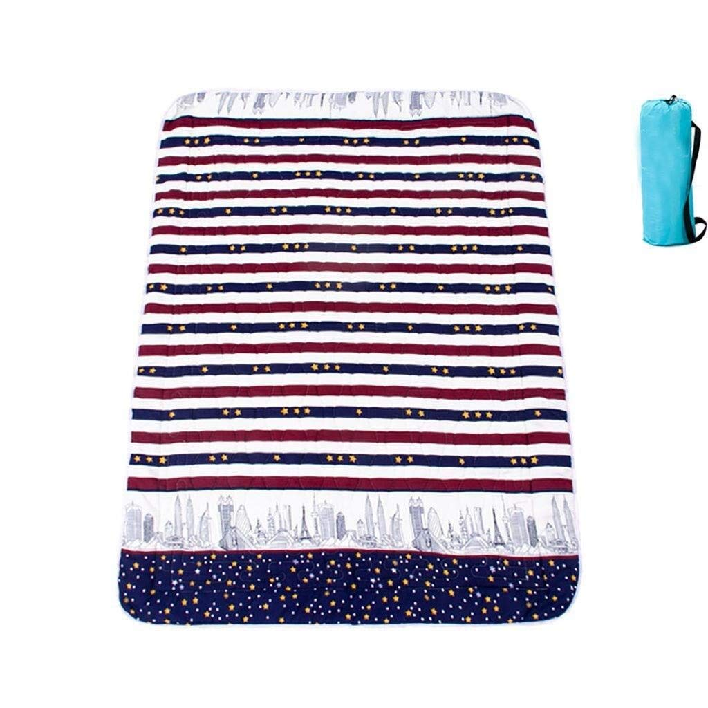 ZKKWLL Picnic Blanket Children's Picnic Blanket Cartoon Picnic mat can be Machine wash Cute Carpet mat Portable Picnic mat Waterproof Oxford Cloth Picnic mat (Color : A) by ZKKWLL