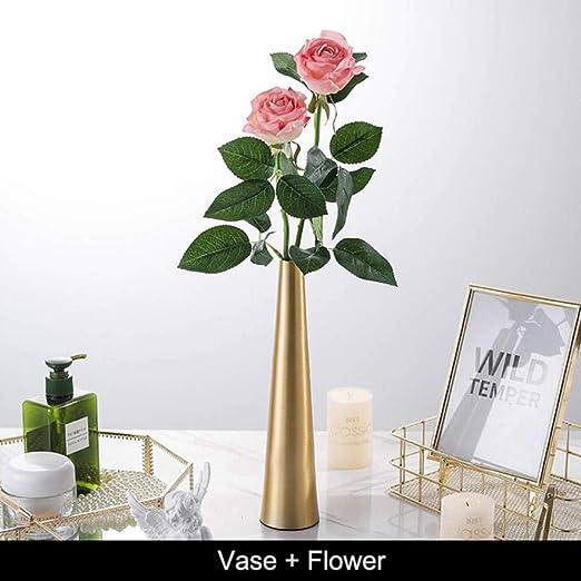 COMPY Vase Crafts decoración de Flores con jarrón Centros de Mesa ...