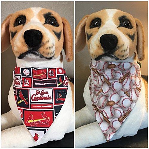 MLB Reversible Pet Bandana St. Louis Cardinals Over The Collar