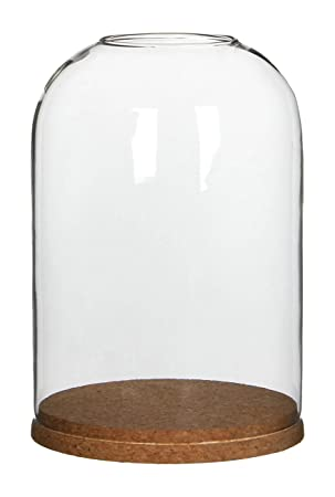 Amazon De Mica Decorations 1004617 Coaster Glocke Glas