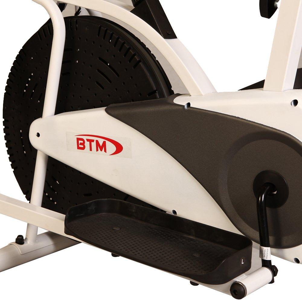 BTM Bicicleta de Ejercicio Gimnasio máquina elíptica Bicicleta ...