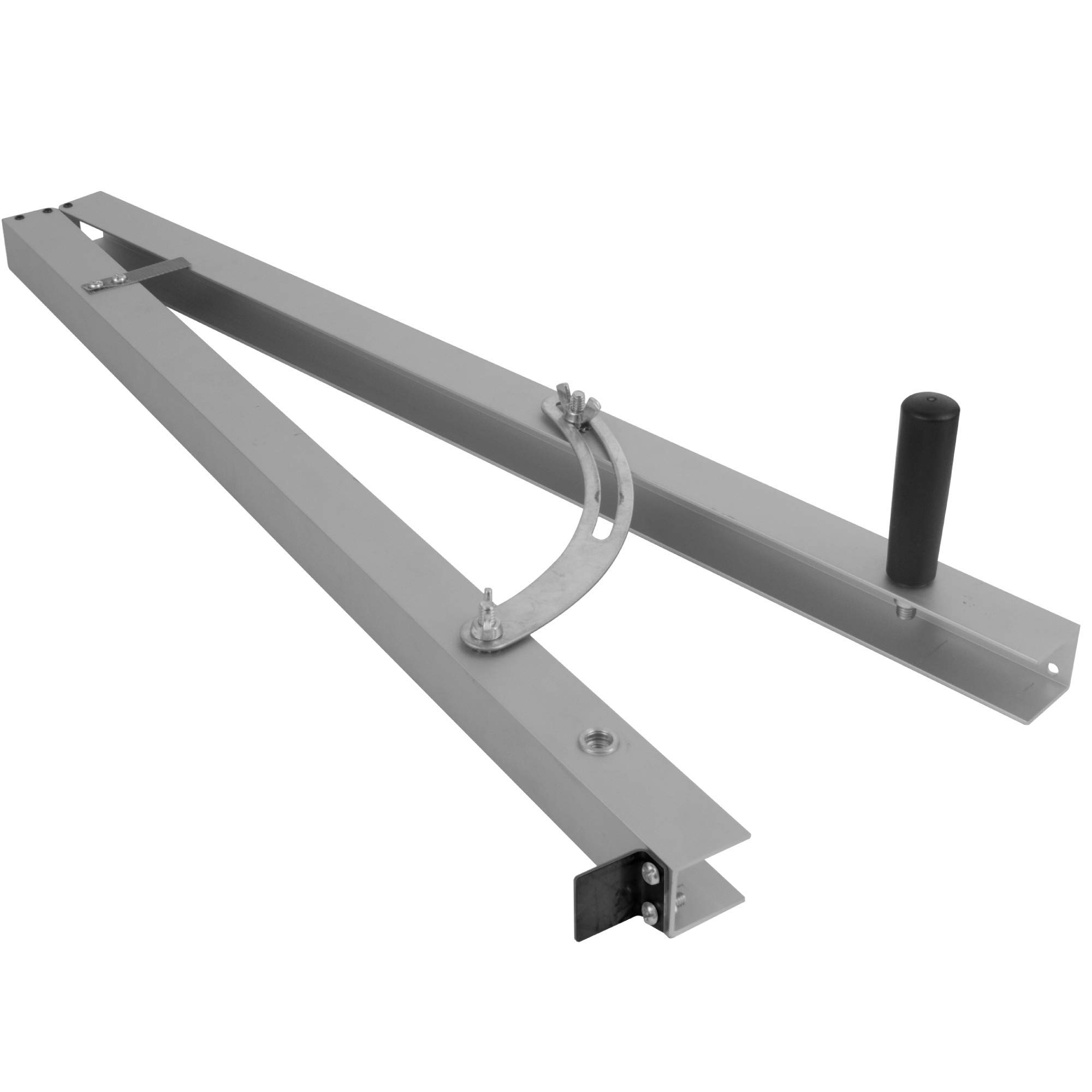 Fulton Taper Cutting Jig For Creating Tapered Angles Up to 15 Degrees on Your Table Saw 24 Inch Long Aluminum Rails with Scale and Stop
