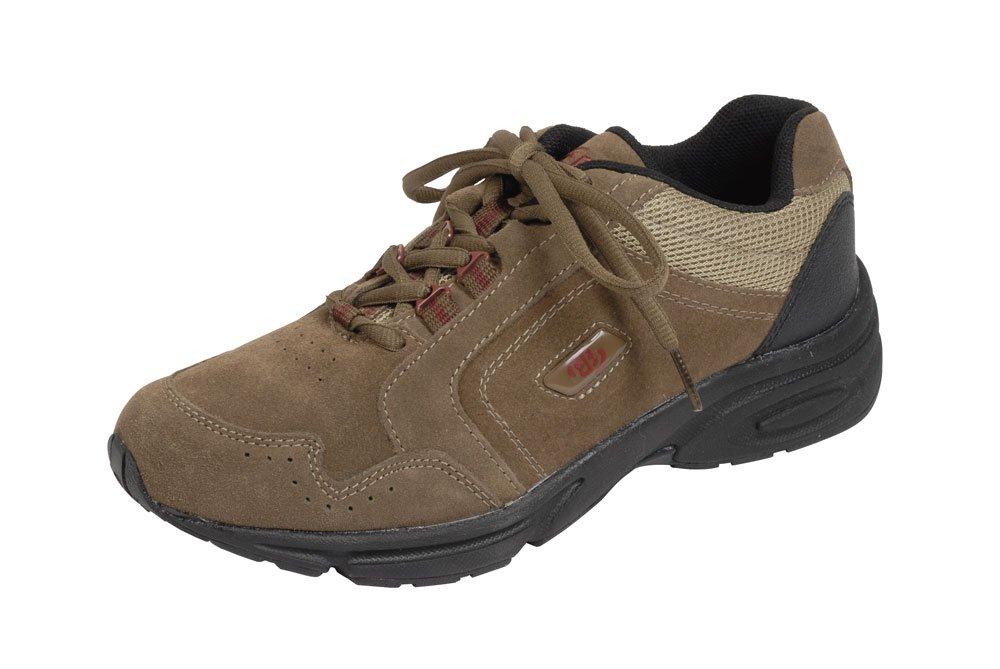 Brütting Sneaker - Zapatillas para hombre 44 EU|Marrón/Negro