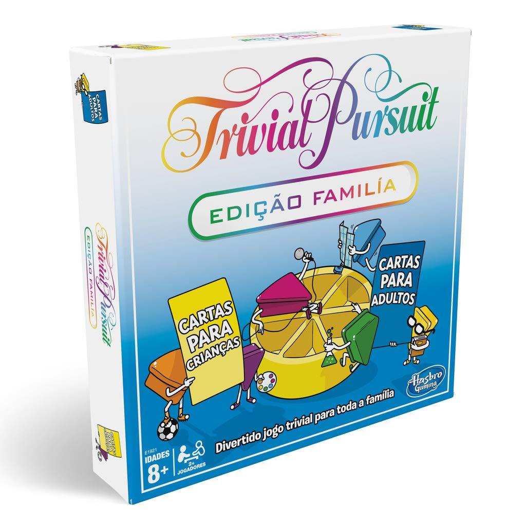 大洲市 Hasbro B07DD3RYNH Gaming Trivial Multi-Colour Trivial Family, Multi-Colour (e1921190) B07DD3RYNH, CHAPTERWORLD/チャプターワールド:9c53dded --- arianechie.dominiotemporario.com