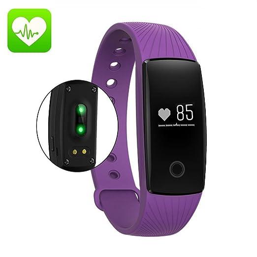 375 opinioni per Fitness Tracker, Orologio da Braccialetto Activity Tracker Cardio Pedometro