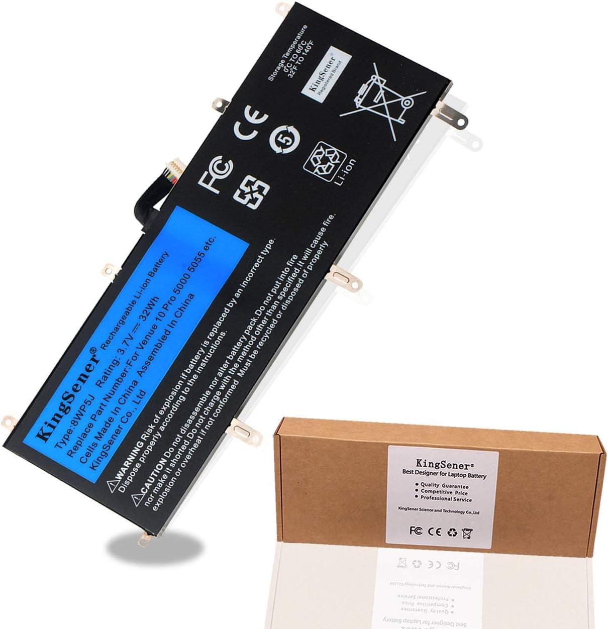 KingSener New 8WP5J Laptop Battery for Dell Venue 10 Pro 5000,Dell Venue 10 Pro 5055, 8WP5J 69Y4H JKHC1 08WP5J 069Y4H 0JKHC1