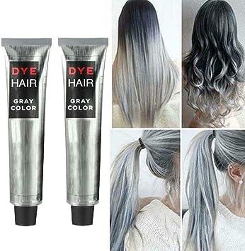 KBLLNPBP 100ml Super Gray Dye Hair Cream, Hair Cream Fashion ...