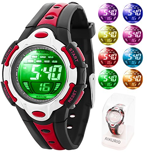 Led Watch Red Light in US - 4