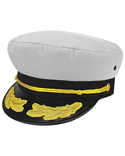 Awkward Styles Captain Hats for Men Yacht Sailors Hat Navy Caps Gifts for  Him One Size 74770f5d7c1