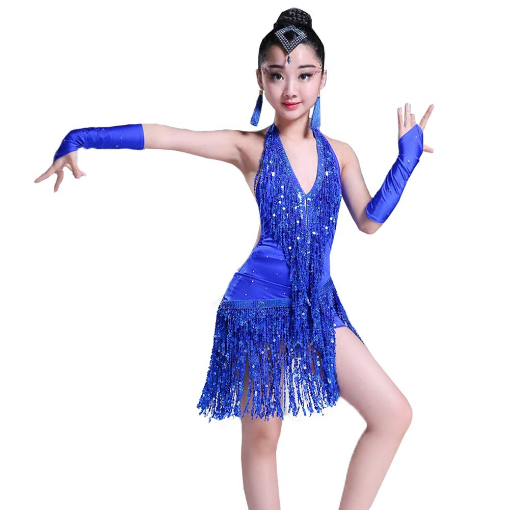 JIE. JIE. JIE. Latin-professionelle Mädchen Latin Dance Kostüme Tassel Pailletten Tanz-Performance-Kleidung, 3,130cm B07PVJD3V4 Bekleidung Schnelle Lieferung 6aa878