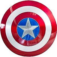Capitán América Escudo Aviación Aluminio Allo Cosplay Película Versión Portátil Batalla Daño Versión Apoyos Barra…