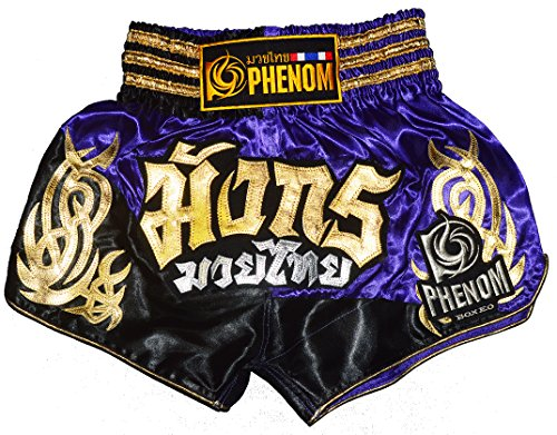 Phenom Muay Thai Kickboxing Shorts 018 purple