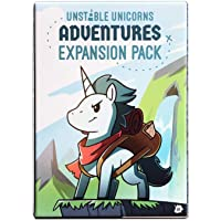 TeeTurtle Unstable Unicorns Adventures Expansion Pack - Designed to be Added to Your Unstable Unicorns Card Game…