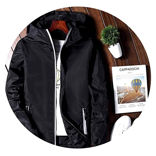 Amazon.com: Sunshinejourney-Jackets Spring Jacket Men ...