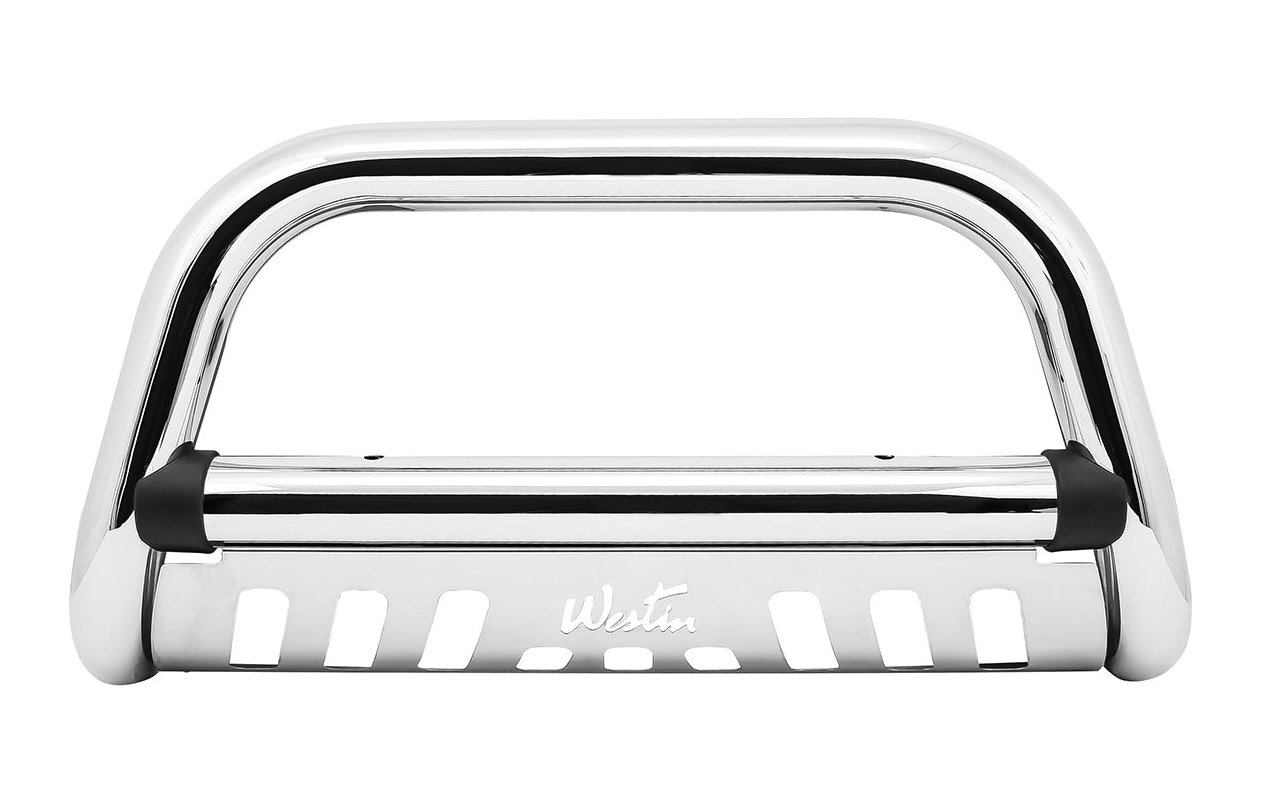 Westin 32-1690 Ultimate Chrome Stainless Steel Grille Guard
