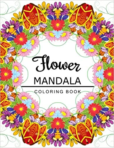 Flower Mandala Coloring Pages - Best Coloring Pages For Kids | 499x386