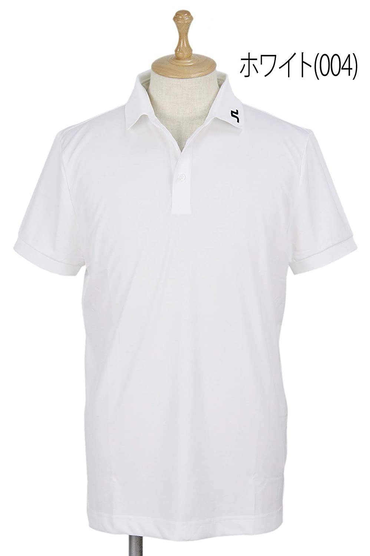 ポロシャツ メンズ Jリンドバーグ J.LINDEBERG 日本正規品 2019 春夏 ゴルフウェア 071-29342 S(44) ホワイト(004) B07Q1ZP37H