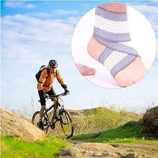 iBàste Ajustement élastique Bandages Protecteurs de Cheville Equitation Alpinisme Enroulement Compression des Chevilles Soutien Anti-entorse