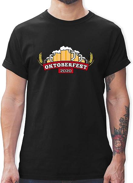 T-Shirt Des is mei MASS-Anzug Sprüche Shirt Wiesn Oktoberfest Geschenk