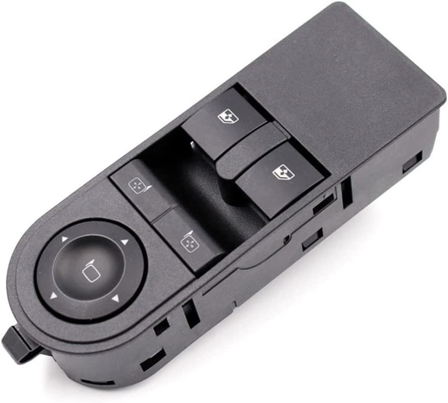 Domeilleur Front Left Driver Side Electric Switch Car Window Button 13228879 for Vauxhall Astra H /& Zafira-B