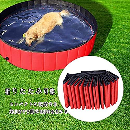 ZRRtables-2020-Upgrade-Version-Dog-Bathtub-Foldable-Swimming-Pool-Golden-Retriever-Cat-Dog-Pool-Bath-Bucket-Large-Dog-Pet-Spa-Whelping-Box