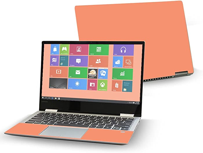 "MightySkins Skin Compatible with Lenovo Yoga 720 13"" (2017) - Solid Peach 