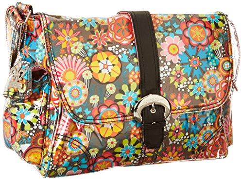Kalencom Laminated Buckle Bag, Retro Floral by Kalencom (Image #1)