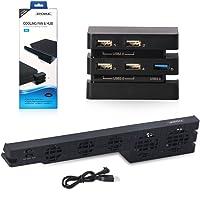 Dobe PS4 Pro Soğutucu Fan ve USB Çoğaltıcı Playstation 4