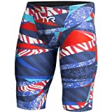 TYR APM6A Men's Avictor Prelude Jammer, Red/White/Blue - 29