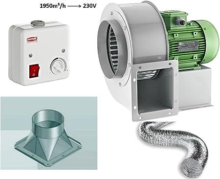 rond et tuyau en aluminium tress/é centrifugal Ventilateur Ventilateur Ventilateur Ventilateur Ventilateur Ventilateur Ventilateur Ventilateur Ven 2 Phare de radiateur industriel Pobra 180 x 70 avec r/égulateur de vitesse 600 W avec 4 coins