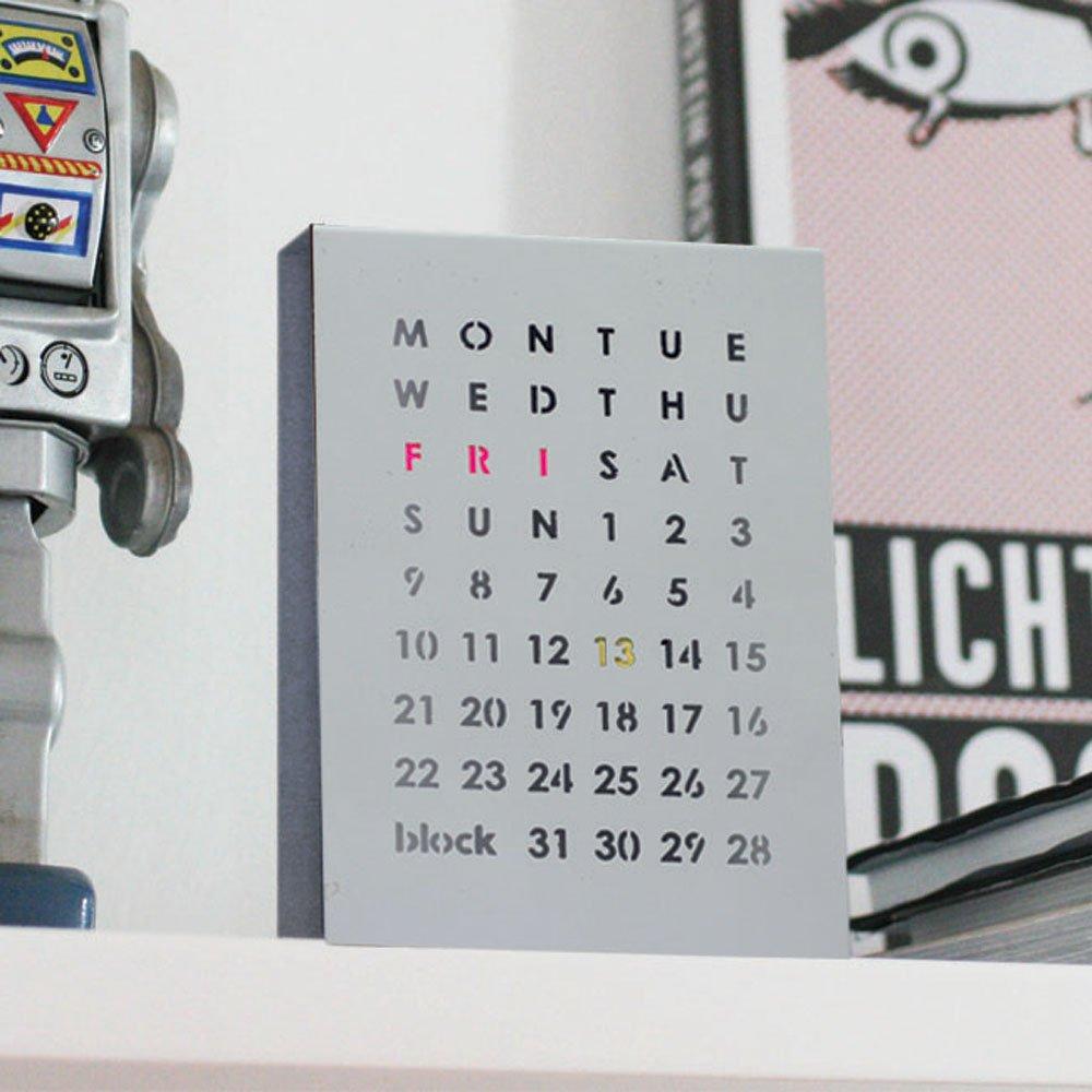 Desktop Calendar Block