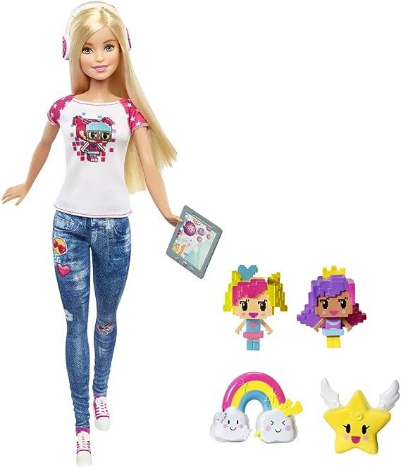 Amazon.es: Barbie Superheroína de Videojuego - Muñeca, color/modelo surtido: Juguetes y juegos