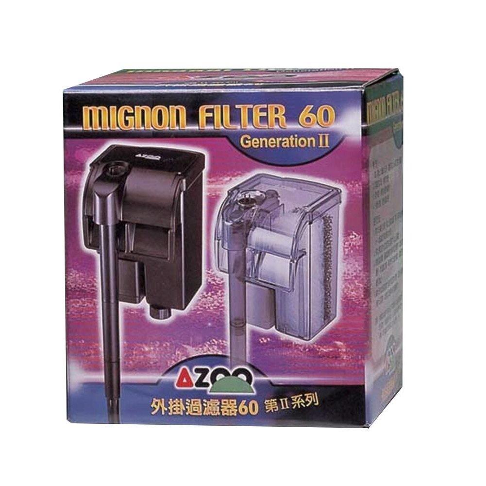 AZOO Aquarium Mignon Filter 60