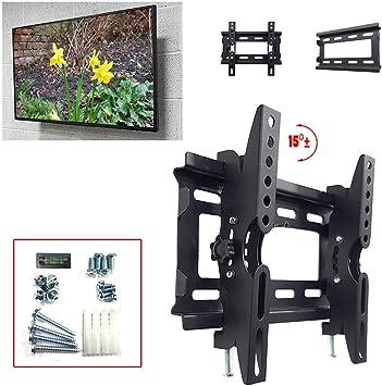TAHA - Soporte de pared para televisor LCD OLED Plasma de 14 a 49 pulgadas (200 x 200 mm, hasta 40 kg): Amazon.es: Electrónica
