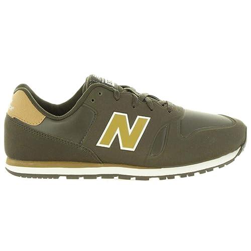 Zapatillas Deporte de Mujer NEW BALANCE KD373S3Y Verde-Dorado: Amazon.es: Zapatos y complementos