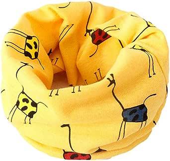 Boomly Bebés niños Loop bufanda Bufanda de algodón Cuello caliente O Anillo Cuello bufandas Pañuelo pañuelo Niños bufanda Para 0-3 años de edad