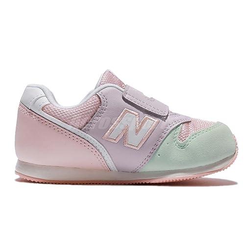 New Balance Zapatillas 996 Lifestyle Velcro Rosa/Morado/Verde Talla: 26: Amazon.es: Zapatos y complementos