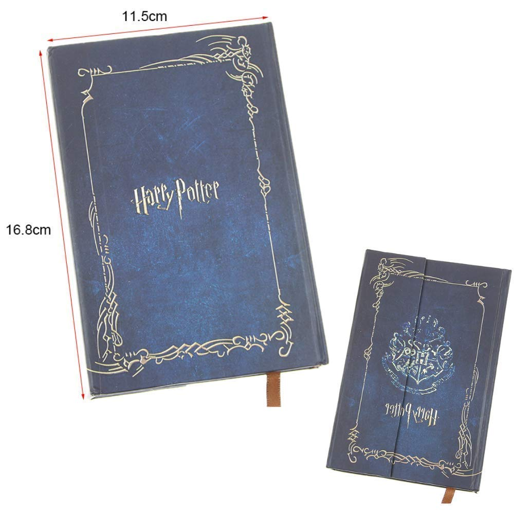 2019 Harry Potter Vintage Journal and Hogwarts Pen Set - Harry Potter Journal Book Diary Book/Hard Cover Note Book/Notepad/Agenda with Feather Quill ...
