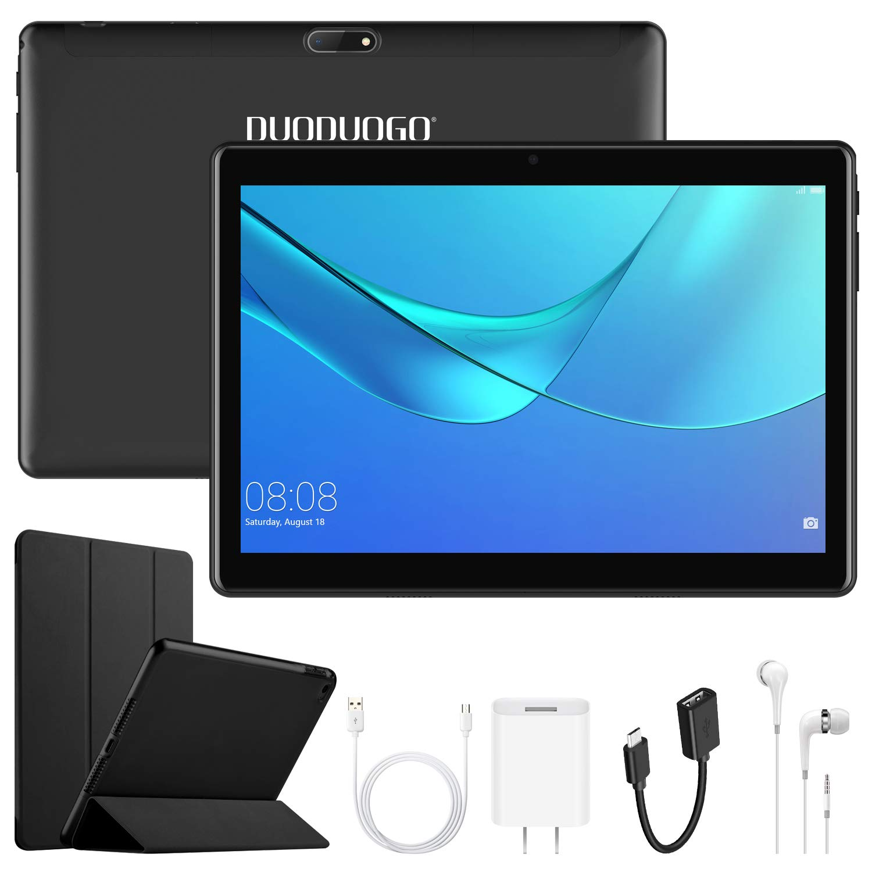 4G Call Tablet Android de 10 HD Android 7.0, OTG Batería 8500mAh Cuatro núcleos 2GB+32GB Tabletas PC WiFi&4G Cámara 8MP GPS Dual sim Tablets PC (Tablets ...