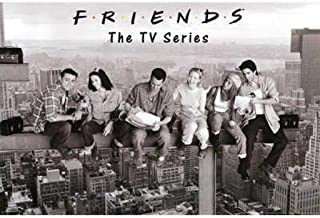 product image for Friends- Black & White Poster Rolled 36 x 24 PSA009999