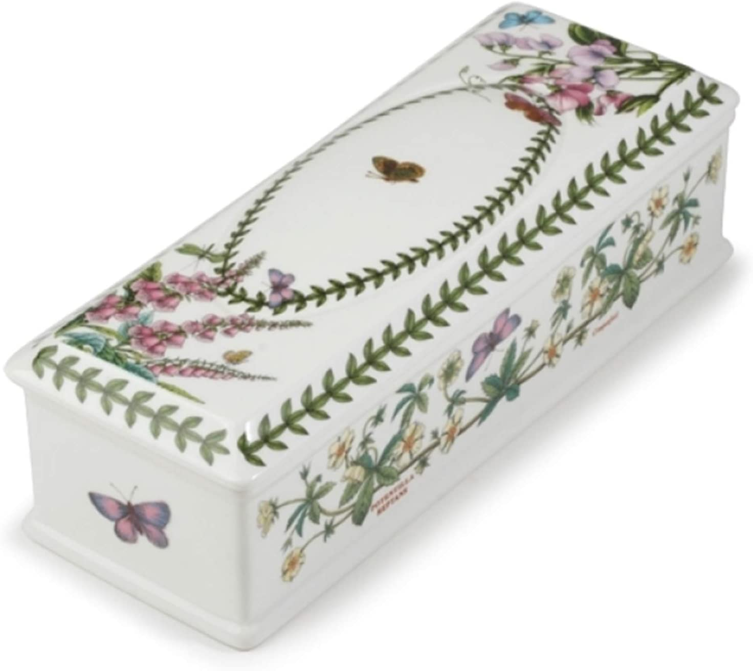 Portmeirion Botanic Garden Ceramic Cutlery Holder Flatware Caddy Tableware Tabletop Holder