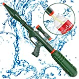 Super Water Cannons Summer Toys - Happytime TOP18010 2019 800CC Water Gun with Green Bottle for Kids Children Adults