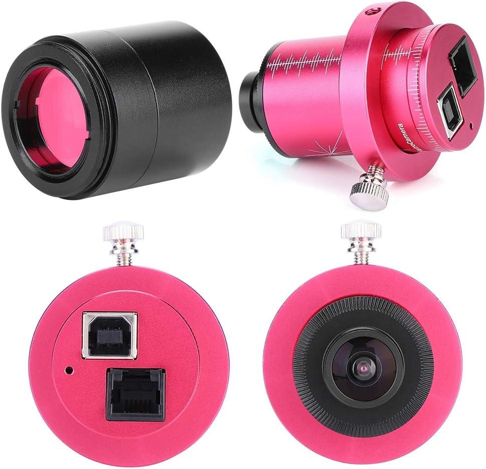 Focket Telescope Electronic Eyepiece,T7C 12 Astronomical Telescope Eyepiece Camera CMOS Equatorial Instrument ST4 Guide Star,ASCOM Compatible Support for RAW,FITS,AVI,etc