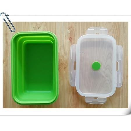 Contenedor rectangular de microondas con tapa de plástico ...