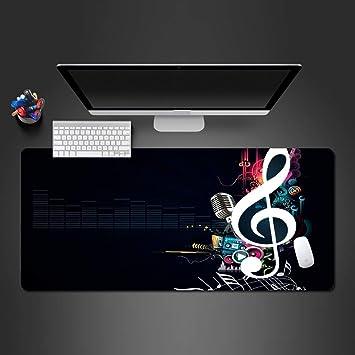 Alfombrilla De Ratón 90X30Cm Hermosa Música Alfombrilla De Ratón Goma Juego De Pc Jugadores Personalidad Teclado Portátil Mesa Grande Pad Gamer