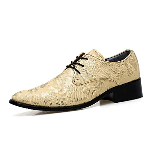Zapatos Formales para Hombres Vestido Elegante Oficina de Boda Trabajo de Negocios Fiesta de Noche Mocasín