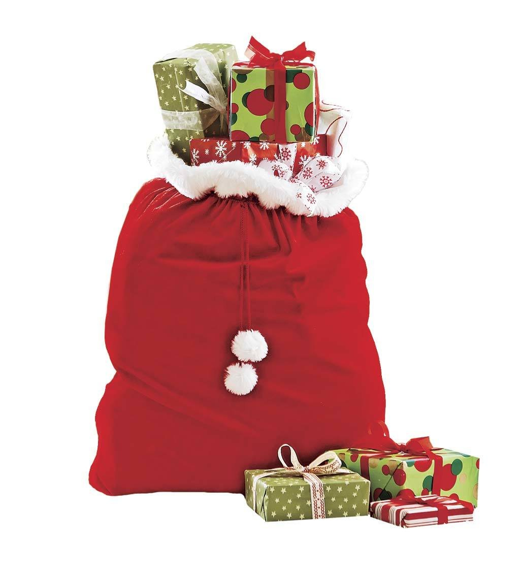 Bag Of Toys : Amazon large santa toy bag gift wrap for