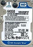 Western Digital WD6400BPVT-22HXZT3 640GB DCM: HBOTJBB