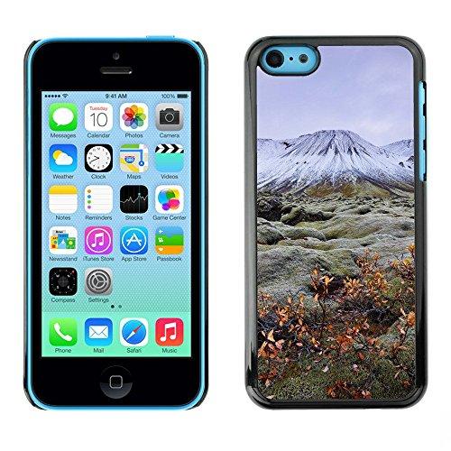 Premio Sottile Slim Cassa Custodia Case Cover Shell // F00001411 Montagne // Apple iPhone 5C