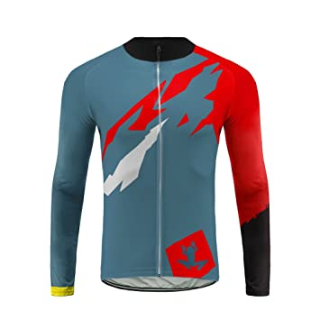15a0df5be Uglyfrog Outdoor Sports Men s Cycling Jersey MTB Bike Shirts Thermal Long  Sleeve Biking Tops Comfortable Cold